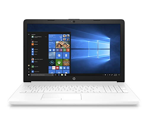 "HP Notebook 15-da0160ns - Ordenador portátil 15.6"" HD (Intel Core i3-7020U, 8GB RAM, 1TB HDD, Intel Graphics, Windows 10) Color Blanco - Teclado QWERTY Español"