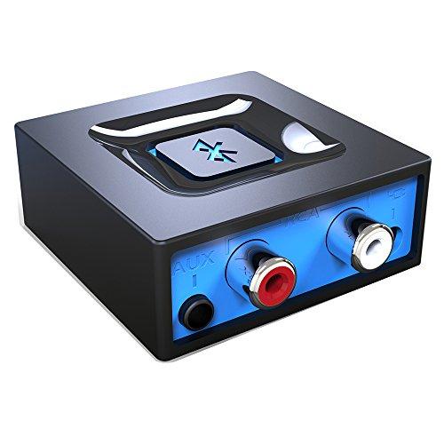 Der Bluetooth-Audioadapter fürs Musikstreaming-Soundsystem, Esinkin drahtloser Audioadapter arbeitet mit Smartphones und Tablets, Bluetooth-Empfänger für Lautsprecher