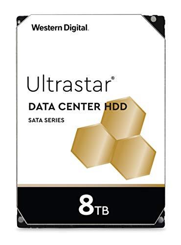 Western Digital Ultrastar Dc Hc320 Hus728T8Tale6L4 Hdd 3.5' Sata Di Classe Enterprise 7200 Rpm, 8 Tb