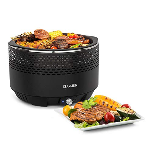 Klarstein Micro-Q 3131 Grill a Carbonella • Griglia Portatile • Barbecue da Campeggio •...