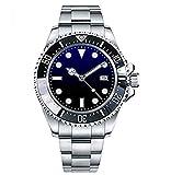 Parnis 47mm Deep Sea Dweller Sapphire Crystal ceremic Bezel Blue Black dial Automatic Mechanical Men's Watch