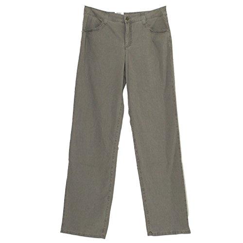 Mac Garcia Charming, Damen Jeans Hose, Gabardine Stretch, Steingrau, D...