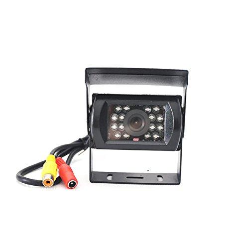 Telecamere per retromarcia,YanhooTelecamera di retromarcia inversa per la retrovisione di 16 LED anti visione notturna anti-nebbia per camion/Semirimorchio/RV rimorchio/Bus/trattore