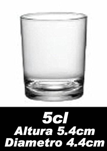 Bormioli-Bicchieri da liquore della Serie Caravelle, 5cl, Confezione da 6