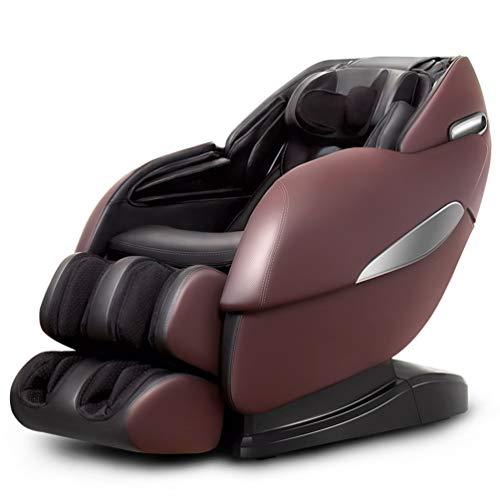 ZHJIUXING ZH Poltrona massaggiante Shiatsu 3D - Poltrona Massaggio con Posizione gravità Zero - Poltrona Relax con 6 programmi di Massaggio Automatici
