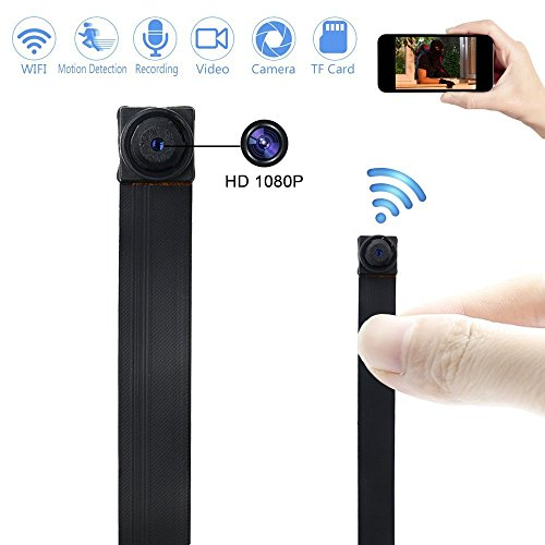 Caméra Espion WIFI TANGMI 1920x1080P HD Mini Caméra Cachée Sans Fil Détection de Mouvement Caméscope DV DIY 7/24 Heures de Travail Android i... 4
