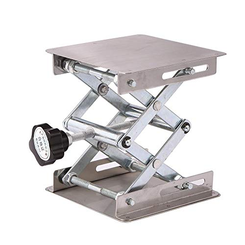 globeagle Aluminum Router Lift Table Woodworking Engraving Lab Lifting Stand Rack