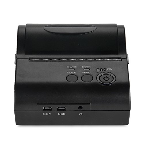 Excelvan Wireless Bluetooth Stampante Termica Portatile Dot Stampante POS 80mm Ricevuta Scontrino...