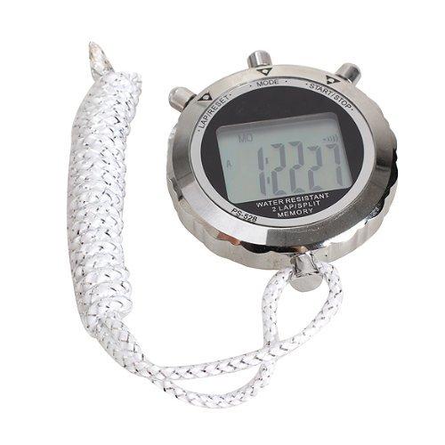 Broadroot cronometro cronografo timer digitale cronometro contatore di sport di metallo impermeabile