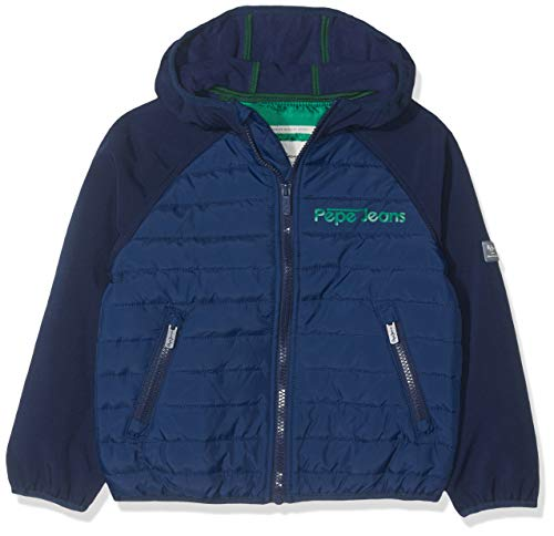 Pepe Jeans Surrey Pb400871 Giacca, Blu (Sailor 580), 12-13 (Taglia Produttore: 152/12 Anni) Bambino