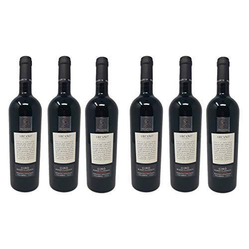 6 Bottiglie di Vino Arcano Cirò Rosso Classico