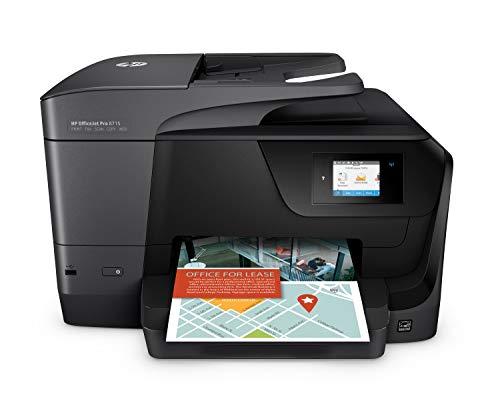 HP OfficeJet Pro 8715 (K7S37A) Stampante Multifunzione a Getto di Inchiostro, Stampante, Scanner,...