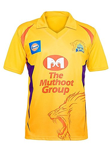 chennai super kings tshirts ipl jersey for men 2018 (Csk t shirts for mens)