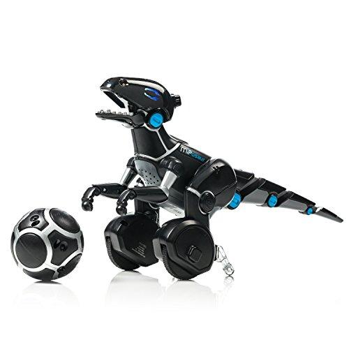 41HdmlJxV6L - Juguetrónica Robot MiPosaur, Color Negro (WowWee 0890)