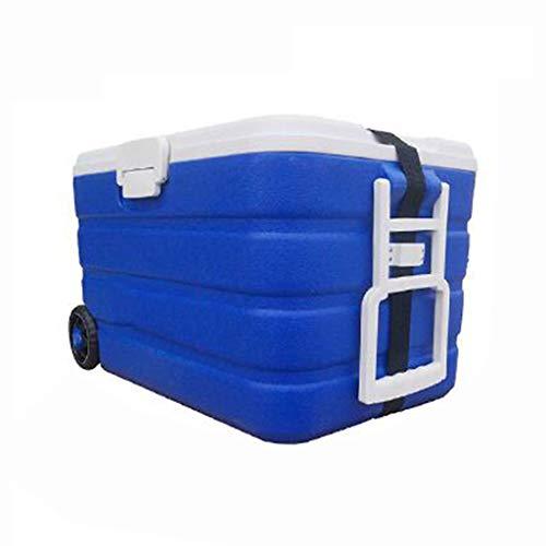 LIYANLCX Frigorifero Portatile 40L / 90L Mini frigo refrigeratore con Ruote e scaldino -Ideale per...