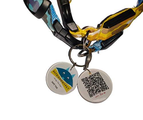 Location GPS Lost Pet ID. QR Code Pet Tracker ID Tag. BefriendMyPet SafeTag.