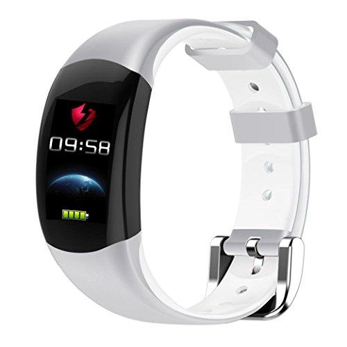 feiXIANG Sport Fitness Tracker - Bluetooth Smart Watch - Impermeabile ! Braccialetto intelligente...