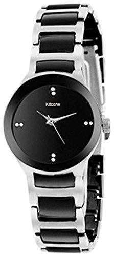 Kitcone Jewellery Bracelet Style Silver Belt Women's Watch -Type-Bm78