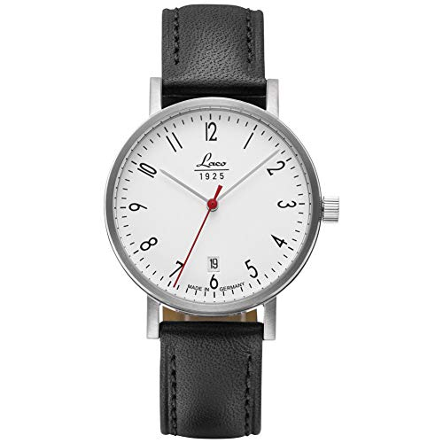 Orologio da polso classico Halle 38 di Laco – Made in Germany – 38 mm Ø orologio automatico di...