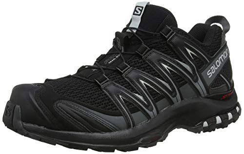 Salomon Xa Pro 3d Gtx Zapatillas de Running Hombre, Negro (Black/Magnet/Quiet Shade), 44 EU