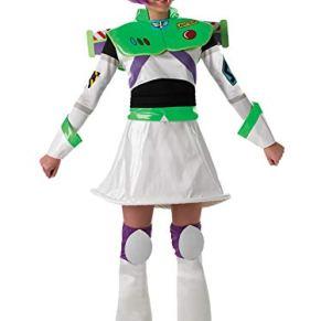 Rubies 's Oficial Ladies Disfraz de Buzz Lightyear Toy Story, Adulto–tamaño Mediano