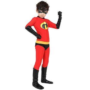 BGHKFF Incredibles Disfraz Cosplay NiñO Adulto Ropa Vestido Superhéroe Halloween Navidad Celebracion Traje Fiesta De Baile Medias Siamesas,Girl-L
