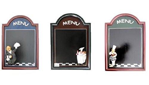 CESTERIA - Lavagna cuoco da arredo casa,cucina,ristorante misura 60x40