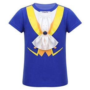Alvivi Disfraz de La Bella y La Bestia Bebé Costume Principe de Fiesta Ceremonia Bautizo Boda Camiseta Manga Corta Bebé…