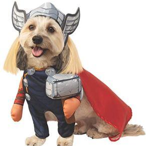 Rubie'S Disfraz de Marvel Walking Thor para Mascota, Grande