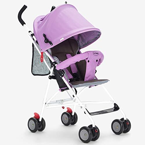 Passeggini per i più piccoli Leggero bambino pieghevole Sistema di viaggio per bambina