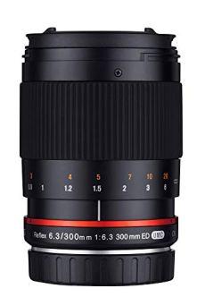 Samyang SAM300CANON - Objetivo para cámara Canon, 300 mm, F6.3 ED UMC CS