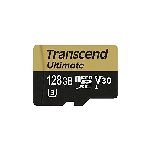 Transcend Carte Mémoire microSDXC 128 Go UHS-I U3M (Ultimate) TS128GUSDU3M