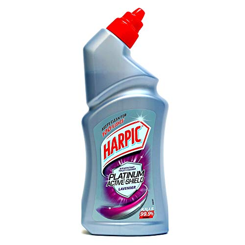 Harpic Platinum Active-Shield Toilet Cleaner, Lavender - 500ml