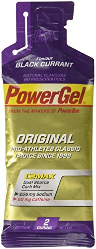 Pack 24 Geles Powerbar C2 Max Carb Mix Grosella-cafeína