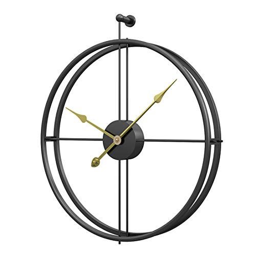 Jo332Bertram Orologio da Parete Grandi in Metallo - Stile Vintage - Orologio da Muro Silenzioso