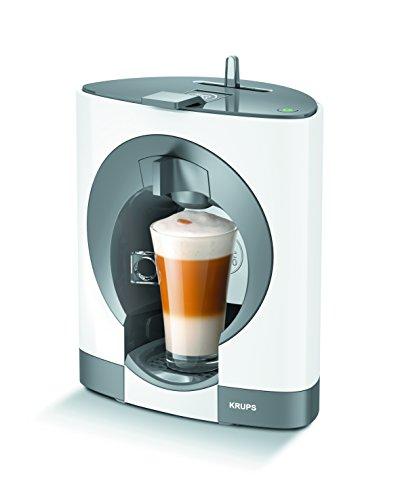 Krups KP1101 Máquina de café en cápsulas 0.6L Color blanco - Cafetera (Independiente, Máquina de café en cápsulas, Color blanco, Nescafe Dolce Gusto, Cápsula de café, Thermoblock)