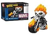Funko- Heroes Figurine-Dorbz Ridez-Marvel-Ghost Rider & Bike, 13716