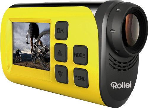 Rollei 40263 - Cámara deportiva de 2 MP, color amarillo