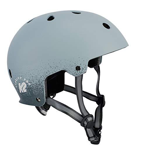 K2 Damen Herren Inline Skates Helm VARSITY PRO - Grau - M (55-58cm) - 30D4108.1.1.M