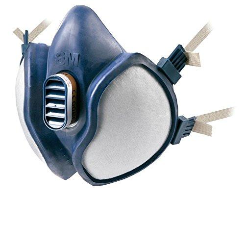 3M 4251 Halbmaske mit eingebautem Filter | Schützt vor organische Gase und Dämpfe