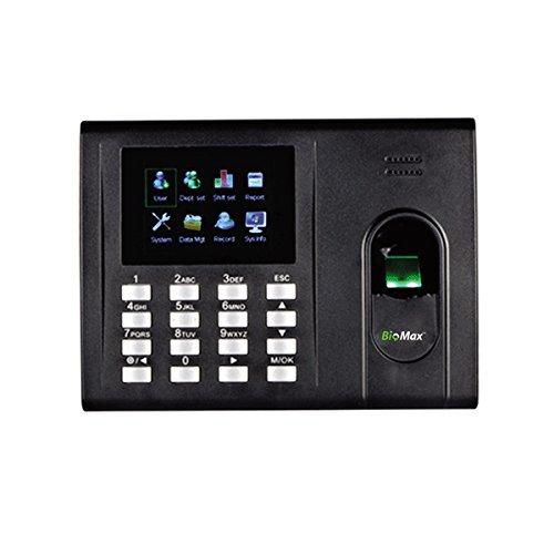 KartString ESSL K30 Fingerprint Scanner Biometric Time Attendance Machine with 6 Months Cloud Based Attendance Management Software
