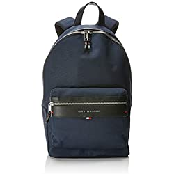 Tommy Hilfiger - Elevated Backpack, Mochilas Hombre, Azul (Tommy Navy/Core Stp), 14x47x28 cm (B x H T)