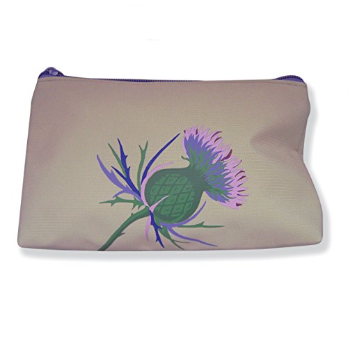 Wild Thistle Folding Shopping Bag In Pouch
