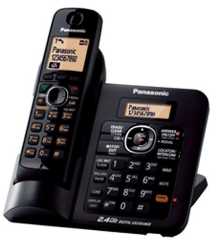 Panasonic KX-TG3821SXB 2.4 GHz DIGITAL Cordless Telephone