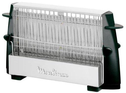 Moulinex Multipan A15453 - Tostador (760 W, para todo tipo de pan, hasta 4 rebanadas, empuñadoras laterales frías, pequeño y fácil de transportar)