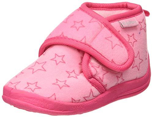 Playshoes Hausschuh Pastell, Ciabatte Unisex - Bambini, Pink (Rosa 14), 22/23 EU