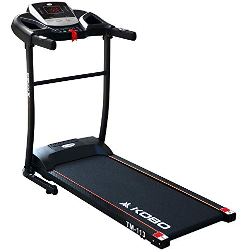 Kobo 1 H.P Motorised Fitness Treadmill with Warranty (2019 Model)