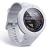 Amazfit Verge Alexa Built-in Smartwatch by Huami with GPS+ GLONASS All-Day Heart Rate and Activity Tracking, Sleep Monitoring, 5-Day Battery Life, Bluetooth, IPX68 Waterproof - A1811 (White)