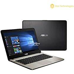 Asus Intel Core i3 14 inch Laptop (4GB / 1TB HDD / DVD-RW / DOS/Black/2kg), X441UA-GA508