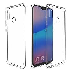 Kaufen Huawei P20 Lite Hülle Silikon, KingShark TPU Schutzhülle Dünn Schlank Weich Flexibel Anti-Kratzer Schutzhülle Abdeckung Case Cover für Huawei P20 Lite - Transparent